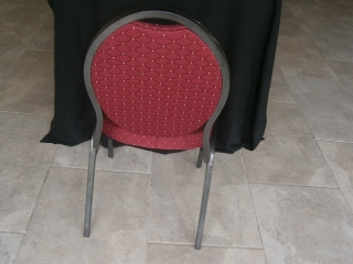 Chaise de mariage