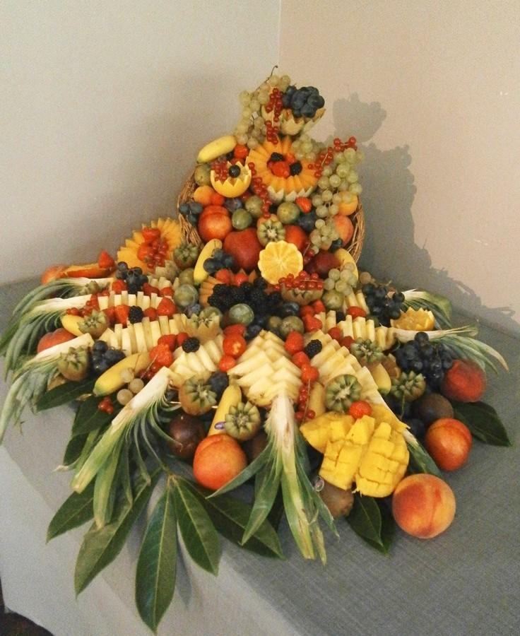 Corbeille de fruits - Christianne Fontaine