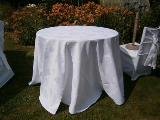 Location nappe blanche qualité restauration