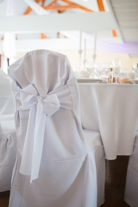 Housse de chaise mariage