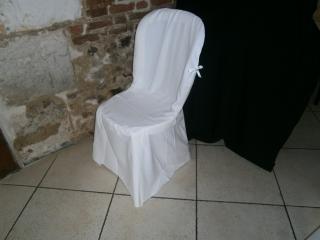 Housse de chais blanche modèle Miami