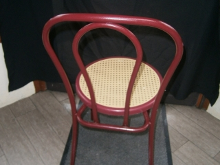 Chaise type bistrot